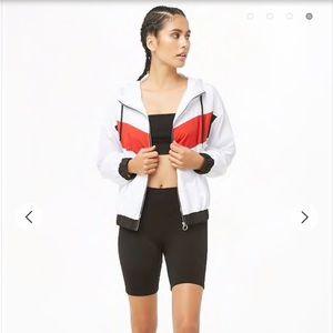 Forever 21 athletic zip up hoodie